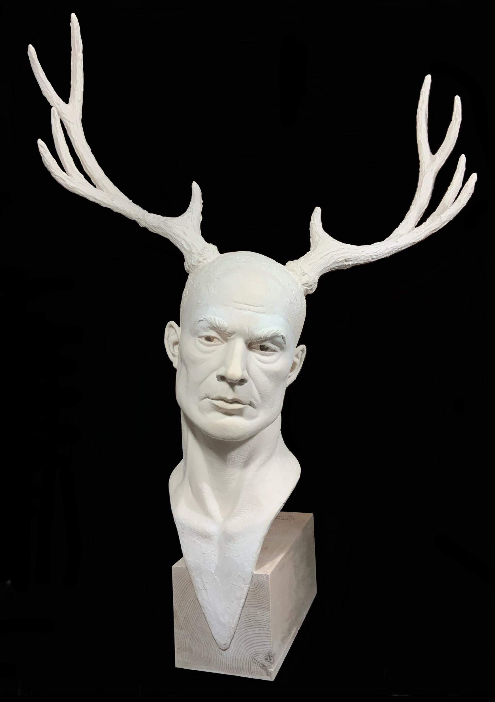 Dimension Royale Sculpture Résine Carole Schoeni