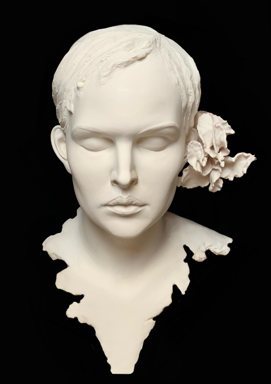 """""""Fruit de Méditation"""" Sculpture Résine Schoeni Carole"""