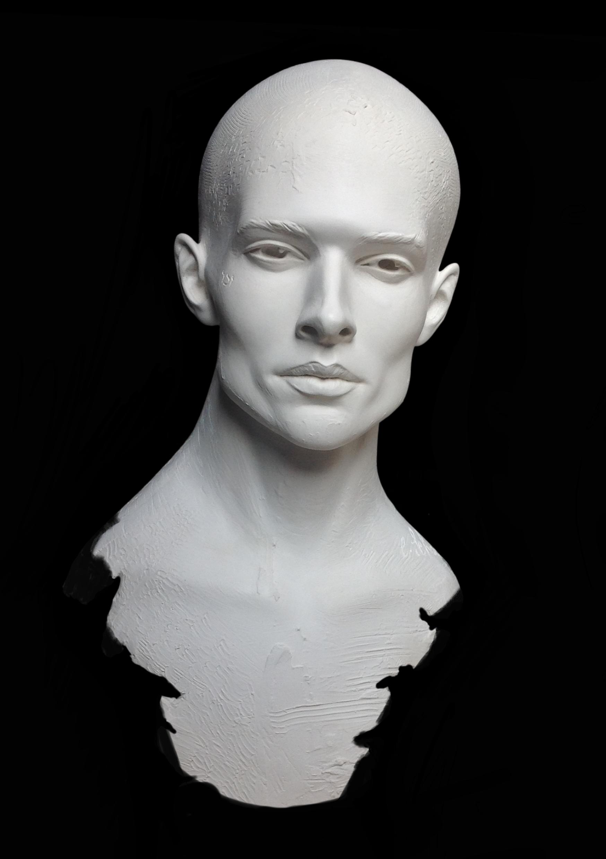 Oreb Et La Lumière Sculpture Résine Carole Schoeni