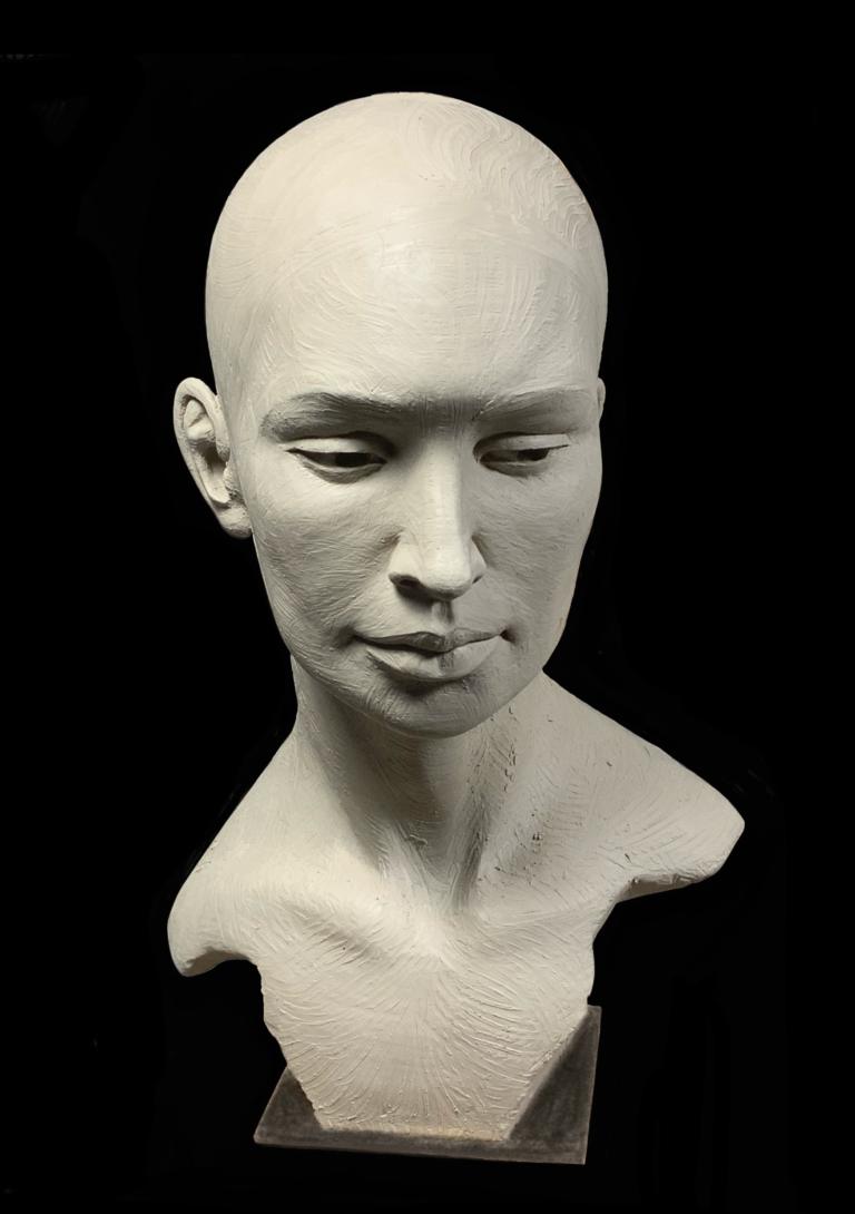 Pistis Sophia Sculpture Terre Carole Schoeni