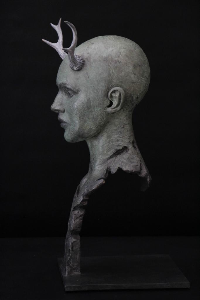 Automine Sculpture Bronze Carole Schoeni