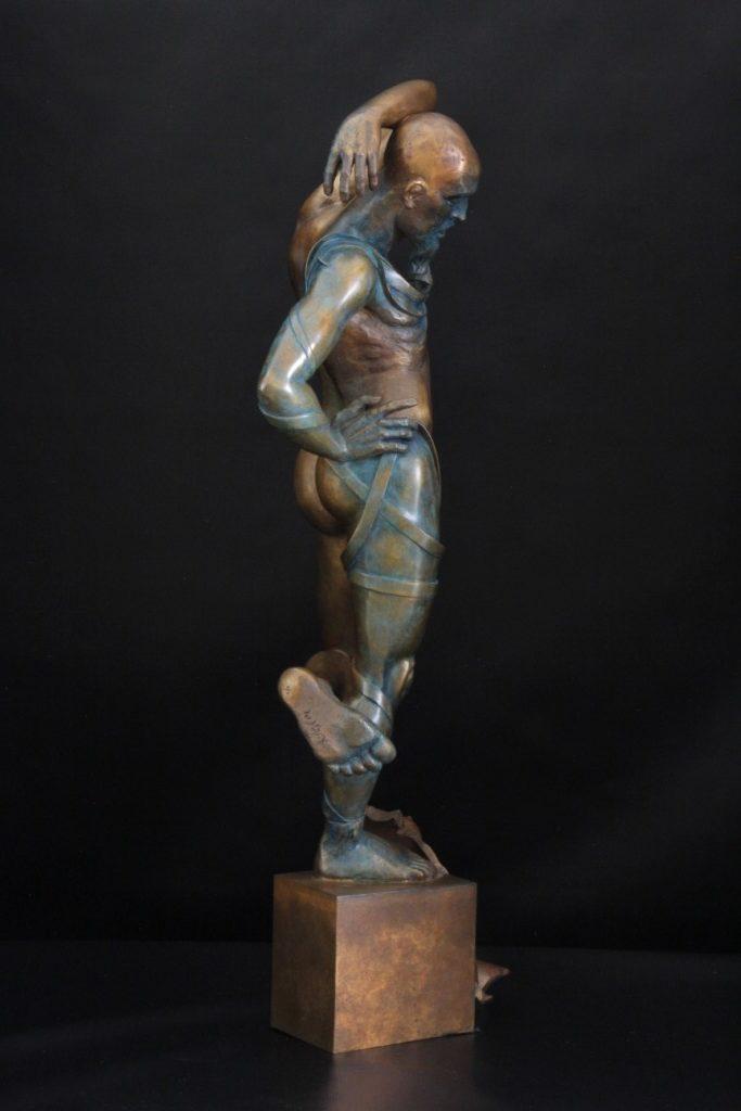 Barbe Bleu Sculpture Bronze Carole Schoeni