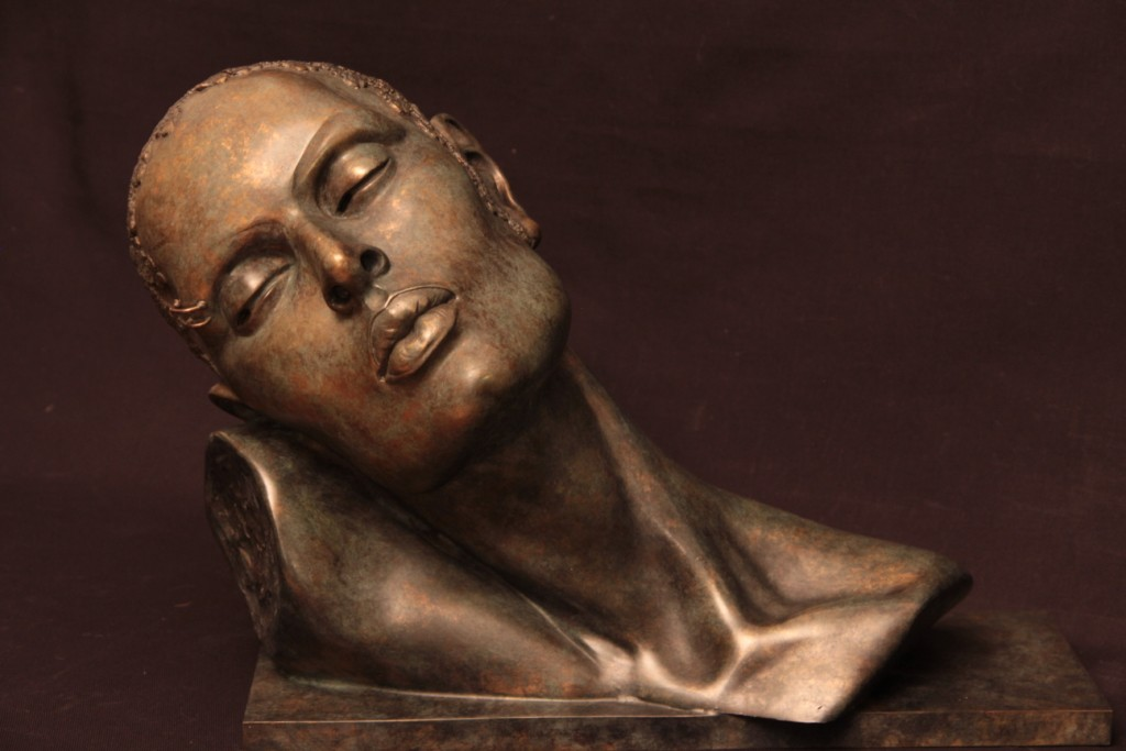 Aube Sculpture Bronze Carole Schoeni