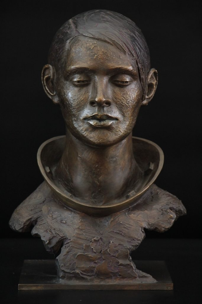 Consensuelle Bronze 40x25x18 Carole Schoeni