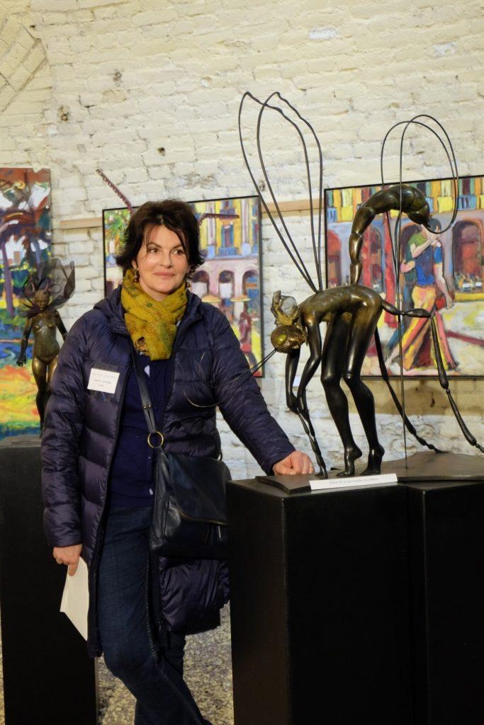 Demoiselle Pic Exposition Carole Schoeni