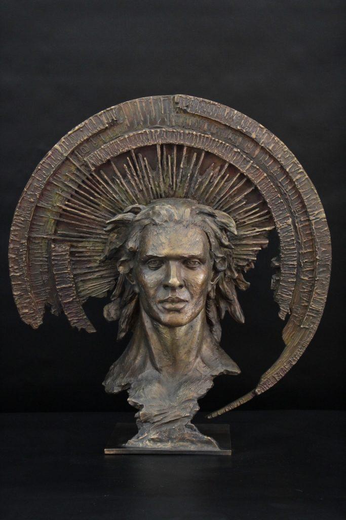 Darcangelo Sculpture Bronze Carole Schoeni