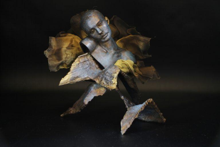 Ispahan Sculpture Bronze Carole Schoeni