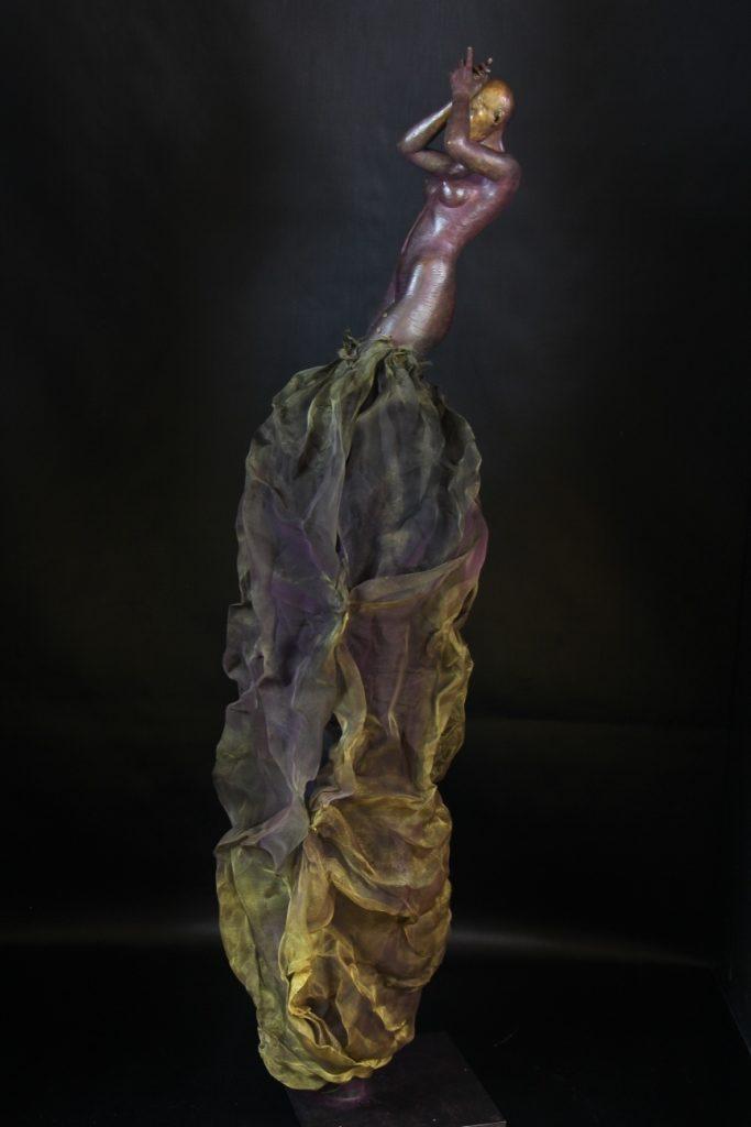 Luna Sculpture Bronze Carole Schoeni