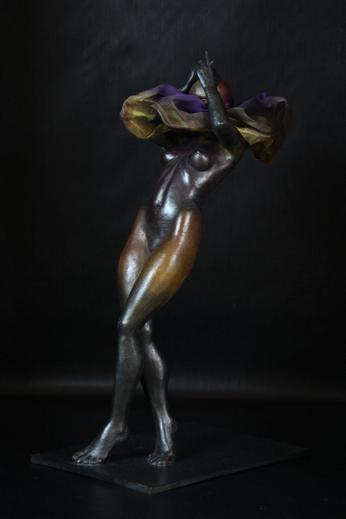Salomé Sculpture Bronze Carole Schoeni