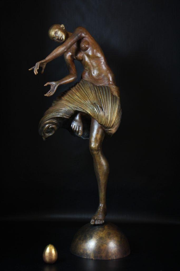 Teshouva Sculpture Bronze Carole Schoeni