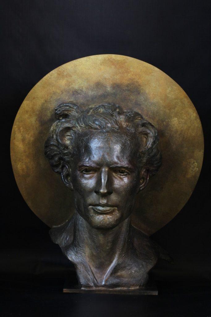 Yod Sculpture Bronze Carole Schoeni